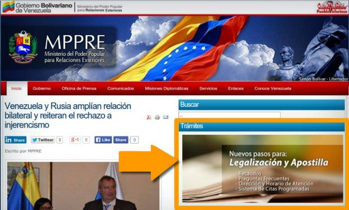 Citas para Apostillar Documentos Venezolanos