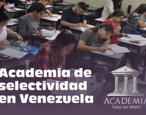 Academia de selectividad en Venezuela