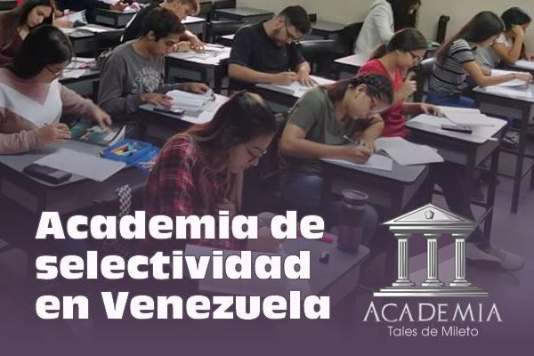 Curso Selectividad Caracas Venezuela 2019