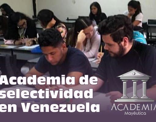 Clases en vivo de selectividad en Venezuela