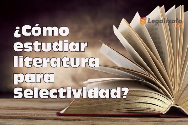 Cómo estudiar literatura para selectividad