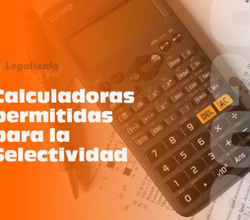 Calculadoras permitidas para la Selectividad 2020