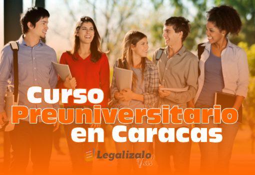 Curso Preuniversitario en Caracas para Estudiar en España