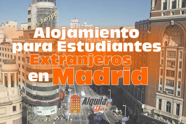 Alojamiento para Estudiantes Extranjeros en Madrid España