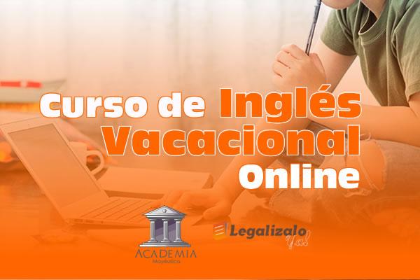 Curso de Inglés Vacacional Online