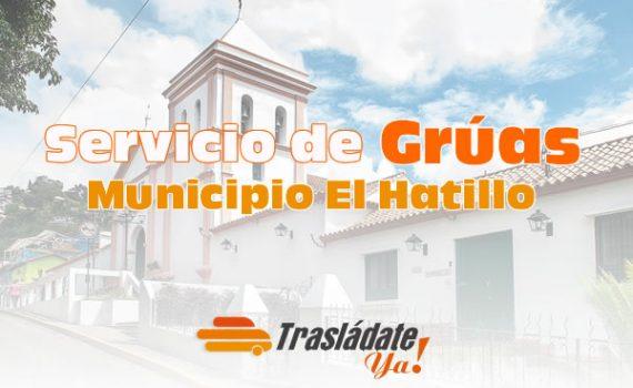 Servicio de Gruas en Caracas El Hatillo