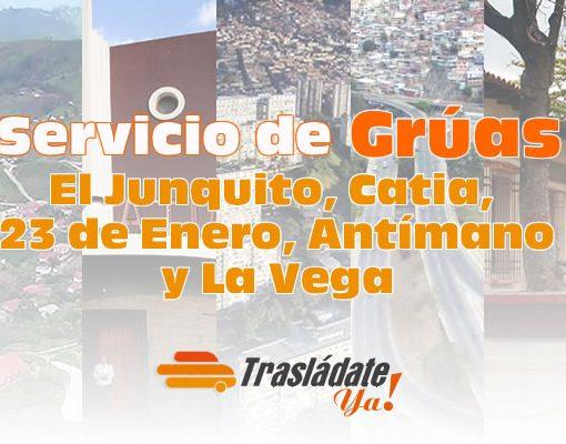 Servicio de Gruas en Caracas El Junquito, Catia, 23 de Enero, Antímano y La Vega