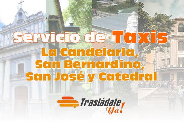 Servicio de Taxi en Caracas La Candelaria, San Bernardino, San José y Catedral