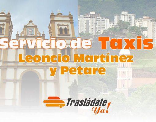 Servicio de Taxi en Caracas Leoncio Martínez y Petare Municipio Sucre