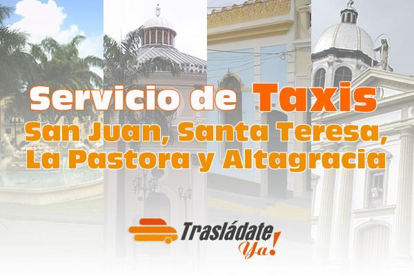 Servicio de Taxi en Caracas San Juan, Santa Teresa, La Pastora y Altagracia