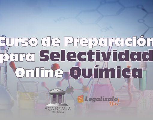 Curso de Preparación para Selectividad Online en Química