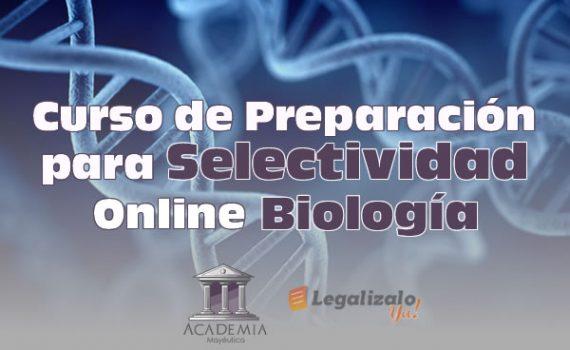 Curso de preparación para selectividad online en biología
