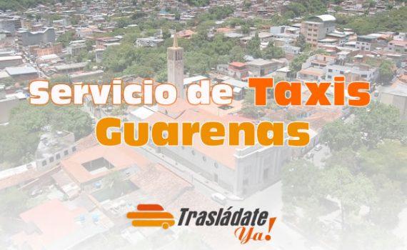 Servicio de Taxi en Guarenas