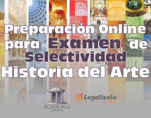 Preparación online para examen selectividad historia del arte