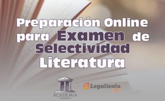 Preparación online para examen selectividad literatura