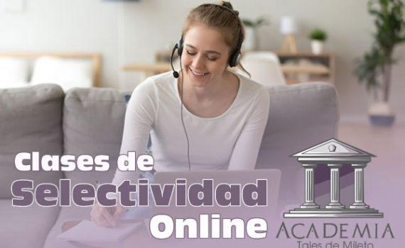 Clases de Selectividad Online 2021