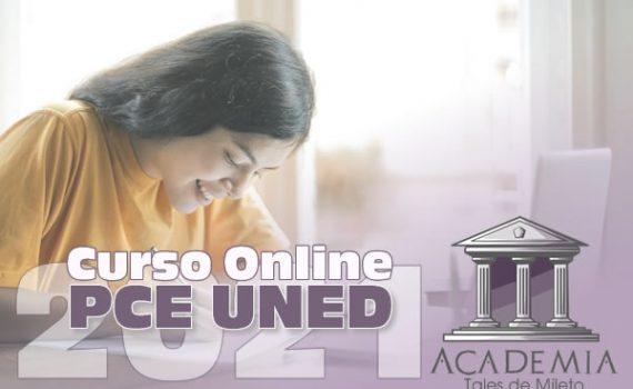 Curso Online PCE UNED 2021