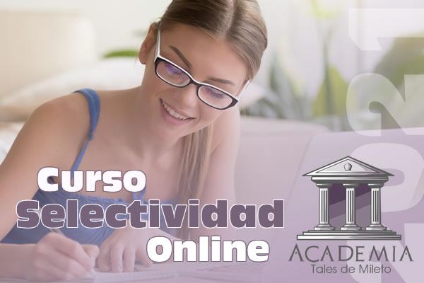 Curso Selectividad Online 2021