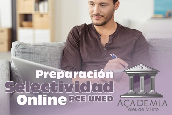 Preparación Selectividad Online PCE UNED
