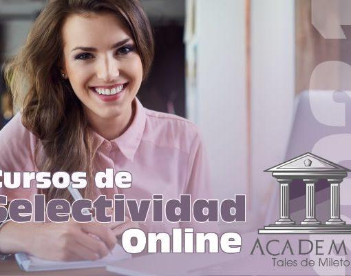 Cursos de Selectividad Online 2021