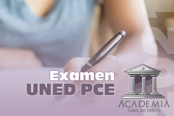Examen UNED PCE 2021