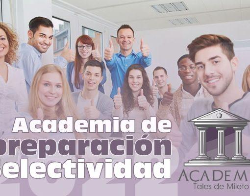 Academia preparación selectividad online 2022