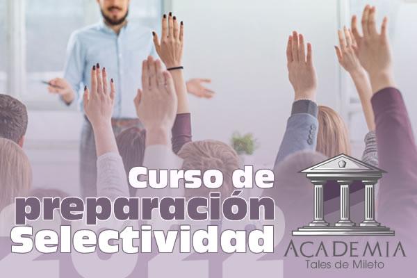 Curso preparacion selectividad online 2022